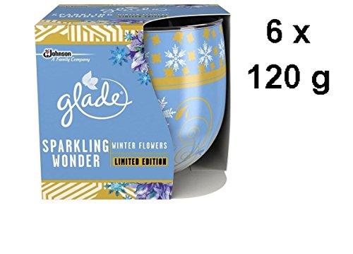 6-x-glade-duftkerze-funkelndes-wunder-winterblumen-limited-edition-120g