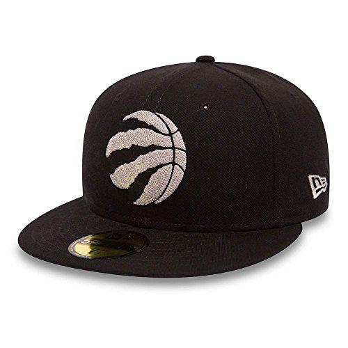 New Era 59Fifty Chain Stitch NBA Toronto Raptors New Era Cap schwarz 7 1/4 (Cap Hut Nba)