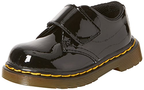 Dr. Martens - Unisex-Child Kamron T Strap Shoe