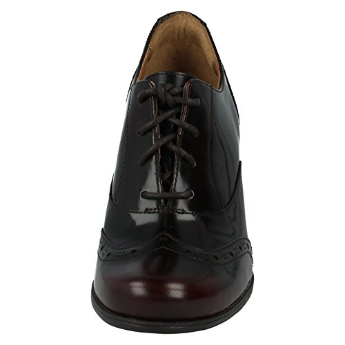 Clarks Ciera Brine Burgundy Leather Bourgogne