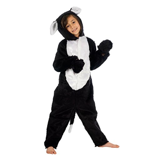 Unbekannt Charlie Crow Katzenkostüm für Kinder 7-9 Jahre. (Von Kater Der Der Halloween-kostüm)