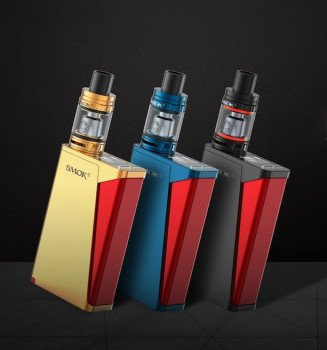 Smok H-Priv 220W Pro Kit inkl. TFV8 Big Baby Beast Farbe Gold/Rot