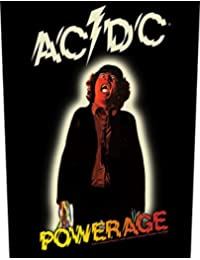 ACDC Powerage One Strings Patch Band Iron Sew On Patch Badge Official Product