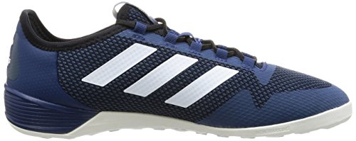 adidas Ace Tango 17.2 In, pour les Chaussures de Formation de Football Homme Bleu (Azumis/ftwbla/negbas)