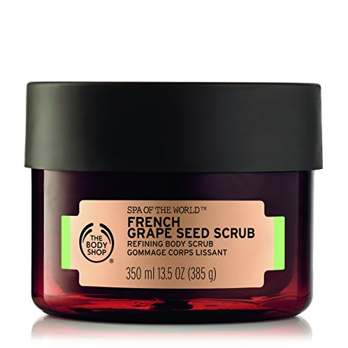 BODY SHOP KÖRPERPEELING 350ML FRENCHGRAPE