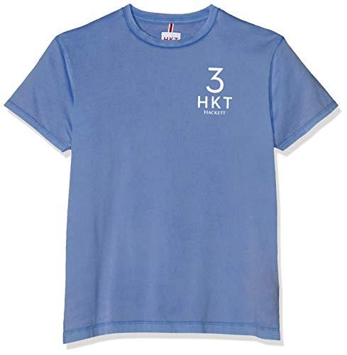 HKT by Hackett London Herren HKT 3 LOGO TEE T-Shirt, Blau (DARK BLUE 581), XX-Large (Herstellergröße:XXL) -