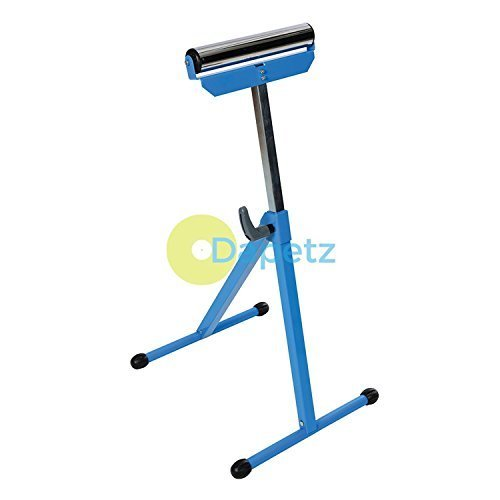 Daptez ® Roller Stand Adjustable 685 1080mm Chrome Plated Roller With Steel Base Test