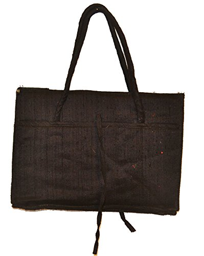 The Rajasthali return gift bag-black