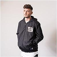 Majestic Athletic NFL New York Giants Racer Track Jacket