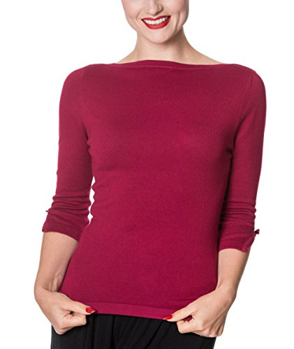 Banned Pullover ADDICTED SWEATER 1037 Plum
