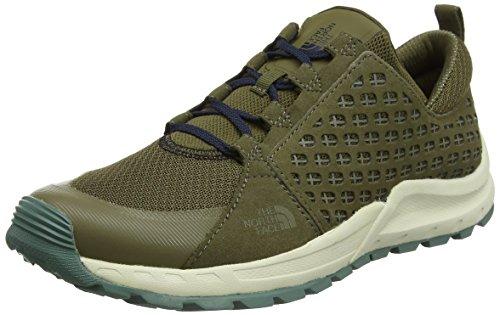 new concept 00b5e 3bd09 The North Face M Mountain Sneaker, Zapatillas de Deporte para Hombre, Verde  (Beech Green Urban Navy 1Wq), 45 EU