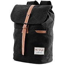 HotStyle Mochilas Viaje Lona 26L - Impermeable para portatil de 17-inch