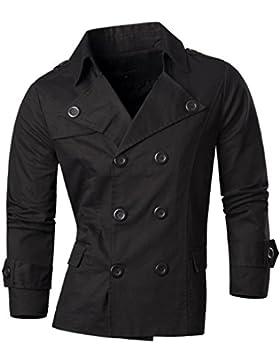 Jeansian Moda Chaqueta Abrigos Blusas Chaqueta Hombres Mens Fashion Jacket Outerwear Tops Blazer 8006