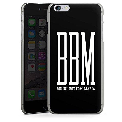 Apple iPhone 6 Silikon Hülle Case Schutzhülle BBM Bikini Bottom Mafia Spongebozz Hard Case anthrazit-klar