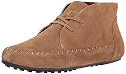 Aerosoles Womens Driving Range Ankle Boot, Tan Suede, 5 M US