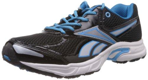 Reebok Men's Vision Speed Lp Black and Royal Blue Mesh Running Shoes  - 8 UK