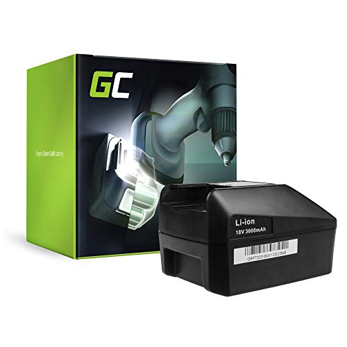 fein ascm 18 Green Cell® Werkzeug Akku für FEIN ASCM 18 Select (Li-Ion Zellen 3 Ah 18V)
