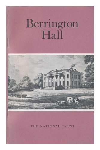 Berrington Hall. [Small] 1992