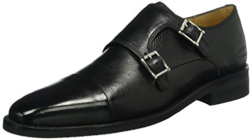 Melvin & HamiltonFreddy 1 -Scarpe Derby Uomo, colore Nero (Remo Black/ Modica Black), taglia 40
