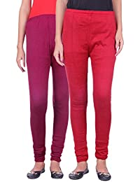 Belmarsh Warm Leggings - Pack of 2 (Mouve_Maroon)