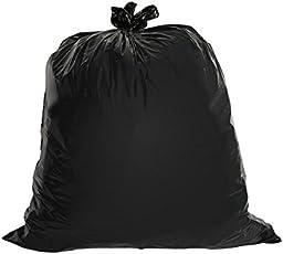 Jamboree Garbage Bag, 20L (Black, Garb120) - Pack of 120