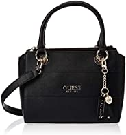Guess Womens Satchels Bag, Black - VG767206