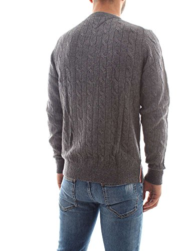 Tommy Hilfiger Herren Pullover Tommy Cable C-NK CF Blau Royal