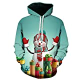 UFACE Loves 'Casual Herbst Winter Weihnachten Printing Long Sleeve Hoodies Sweatshirt