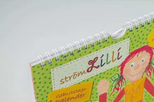 strömLilli Geburtstags – Kalender mit lustigen Übungen zum STRÖMEN und Entspannen - 5