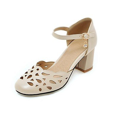Grosse Chaussure - PAN&PAN Homme-Habillé-Bleu Rose Violet Blanc Beige-Gros Talon-Confort-Chaussures