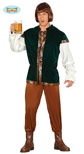 Gastwirt Kostüm für Herren Herrenkostüm Mehrfarbig Gr. M - L, ()