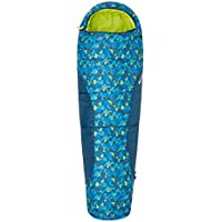 Mountain Warehouse Apex Mini Patterned Kids Sleeping Bag - Mummy Shaped, Lightweight, Compact - Great for Sleepovers or Camping