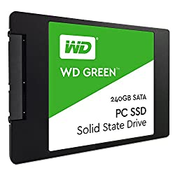 WD Green 240GB Internal Solid State Drive (WDS240G1G0A)