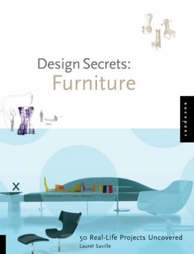 Furniture: 50 Real-life Projects Uncovered (Design Secrets) by Brooke C. Stoddard (28-Apr-2006) Hardcover