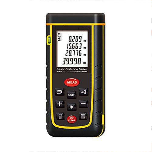 Laser Entfernungsmesser 40m, Massband Laser Entfernungsmesser, Professional Datenspeicherung, LCD Display FüR Distanz-, FläChe-, VolumenMessung,A40M