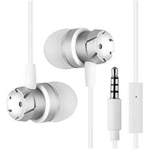 Auriculares internos bajos sonido iPhone/HTC/Sony