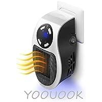 Calentadores eléctricos,De Ventilador Termostato Silencioso,De Ventilador Termostato Silencioso Portátil Pequeño Portátil,