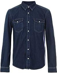 a99d6f3fb2f Givenchy Camisa Denim Tira Logo 4G