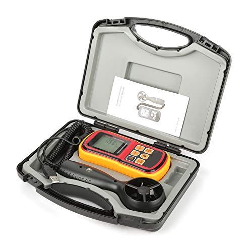 Famus Digital Handheld Anemometer, GM8901 Tragbare Luftgeschwindigkeit Tester Windgeschwindigkeiten Temperaturmesser für Home Office Auto Klimaanlage Segelboot