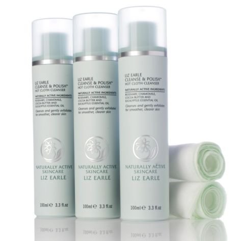 liz-earle-cleanse-and-polish-100ml-trio-with-2-muslin-cloths-by-liz-earle