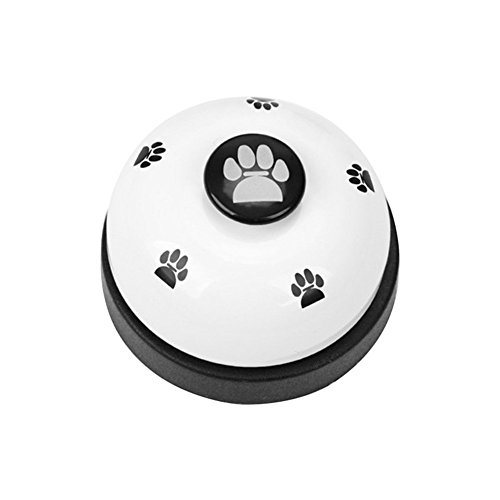 Pet Glocken Hund Puppy Glöckchen Tischglocke Call Bell für Töpfchen Training und Kommunikation Gerät Abendessen Füttern Tür Ring Bell
