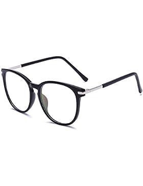 Aiweijia Gafas bloqueadoras de Blu-ray Vintage Lentes de lentes transparentes Gafas de Blu-ray