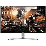 LG 27UD68-W 68,58 cm (27 Zoll) Computer-Monitor (HDMI, HDCP, DisplayPort, 5ms Reaktionszeit, Ultra HD 4 K) weiß