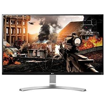 "LG 27UD68-W - Monitor de 27"" (3840 x 2160 Pixeles, LED, IPS, 1000:1), color plateado"