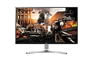 "LG27UD68-W.AEU Écran PC LED IPS - 27"" - 16:9 3840x2160 - 1000:1 - 5 ms - Argent (2xHDMI, DP) (B01AN14SEO) 