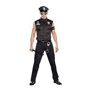 DreamGirl-Disfraz de Oficial de CP Ed Banger Sucia ,