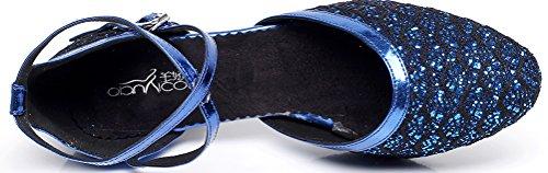 CFP , Damen Tanzschuhe Blau blau - 3