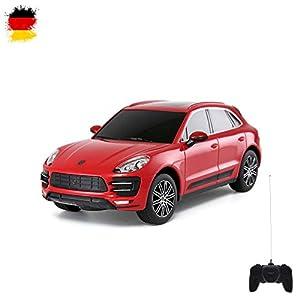 Unbekannt Original Porsche Macan, Lizenz-Auto, RC Ferngesteuertes Fahrzeug, lizenziert, Modell-Maßstab 1:24, Ready-to-Drive, Auto inkl. Fernsteuerung, Neu