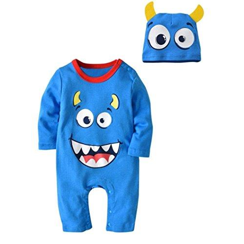 URSING Halloween Kostüme Baby Jungen Mädchen Cartoon Drucken -