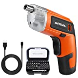 Best Electric Screwdrivers - Cordless Screwdriver, Meterk 3.6V 2000mAh Rechargeable Lithium Battery Review